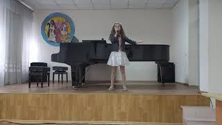 Шаш Елизавета,  Половинки, 8 лет,  эстрадный вокал
