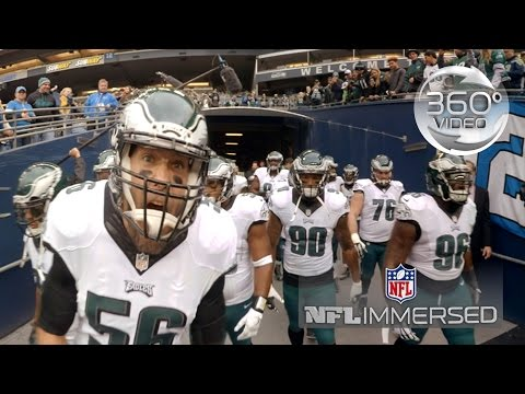 NFL Immersed (360 Video): Eagles Defensive Line | Episode 1 | NFL Virtual Reality