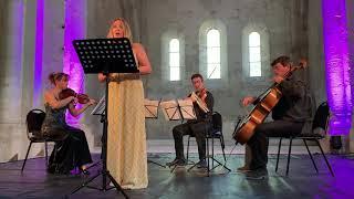 Ave Maria. Gounod- Anica Skryane & Quatuor con Fuoco