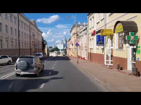 Коротенькое видео Старой Смоленской дороги и центра Смоленска.