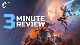 Kingdoms of Amalur: Re-Reckoning | Review in 3 Minutes (Video Game Video Review)