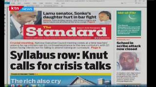 Syllabus row: KNUT calls for crisis talks