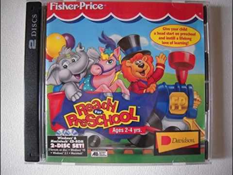 books with cd for preschoolers fisher price ready for preschool 1996 cd rom 58516