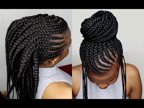 youtube hair braid styles crochet braids method on cornrows tutorial for beginners 9345 | hqdefault