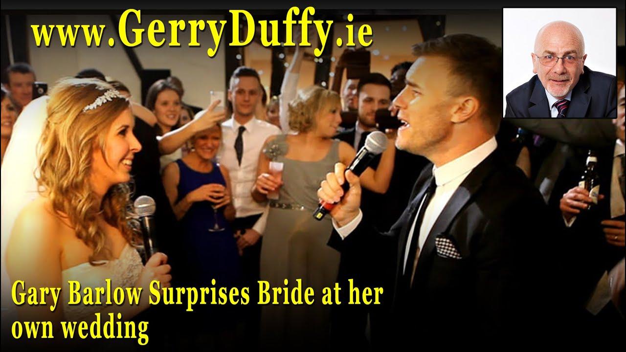 Gary Barlow Surprises Bride At Her Own Wedding Hd