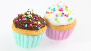 Polymer Clay Tutorial: Nutella Cupcake Charm