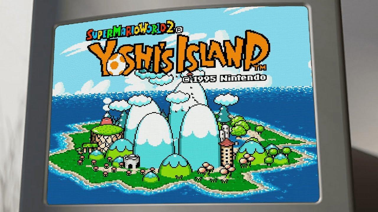 Yoshi's Island Theme Gummibär MASHUP - Gummy Bear Song ...