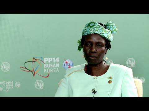 ITU PP14 INTERVIEW: Rebecca Joshua Okwaci, Telecom & Postal Services, Republic of South Sudan