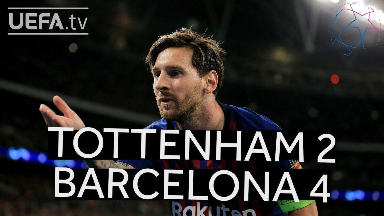 Watch Tottenham vs. Dortmund, Ajax vs. Real Madrid Champions League Hype Video