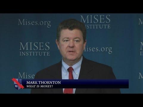 What is Money? | Mark Thornton