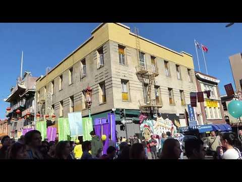 San Francisco Chinatown New Year Of Dog Parade 2018 (Traditional)