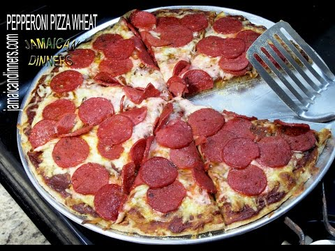 PEPPERONI PIZZA  FIRM WHEAT CRUST: New York Caribbean Style Recipe