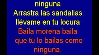 Baila Morena -  Julio Iglesias -  karaoke   Tony Ginzo