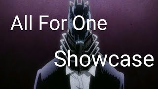 New Quirk All for One showcase!! (w/ Neo Penguin) | Boku No Roblox | Roblox
