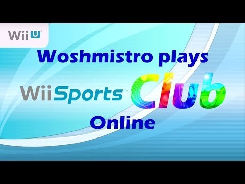 Playing Wii Sports Club - Bowling and Tennis Online!