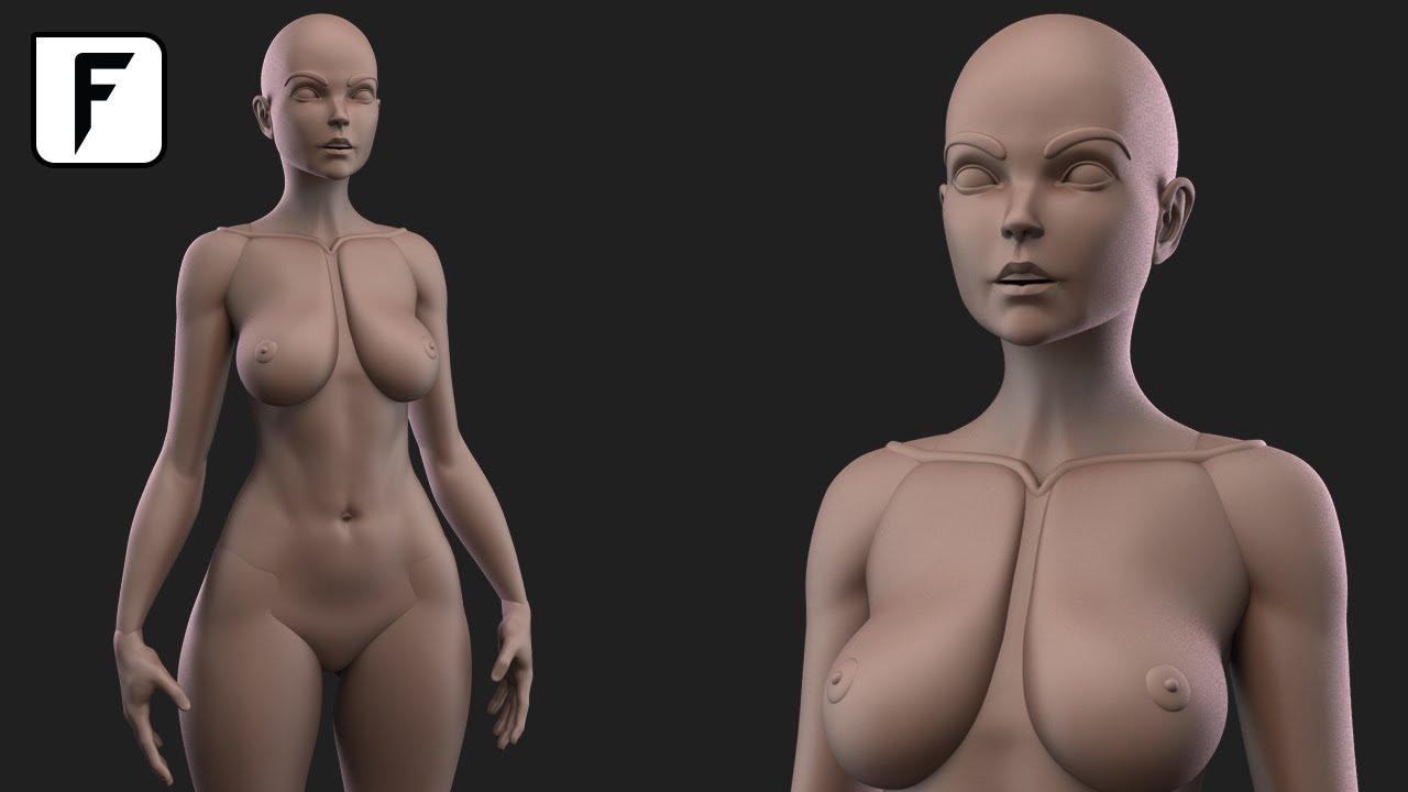 Oddessy Boob model