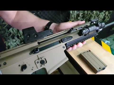 *REUPLOAD* Quick Overview of the HeE MK17 Scar-H Recoil Gel Blaster