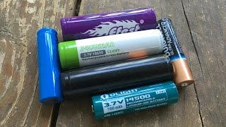 Nick's Rants: Flashlight Battery Numbers cannot be trusted, because battery makers hate us all