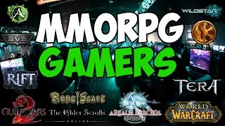 Types Of MMORPG Gamers