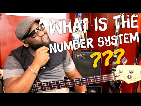 The Number System Explained for Bass Players (Beginners)
