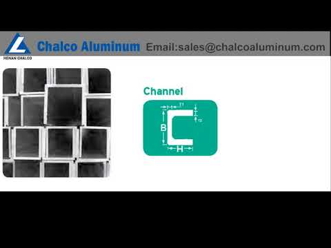 marine grade aluminum i beam/aluminum channel/aluminum angle bar supplier