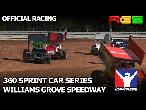 iRacing.com | 360 Sprint Car Series | Williams Grove Speedway