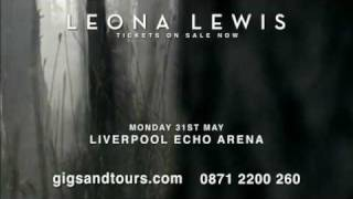 LEONA LEWIS 2010 UK TOUR - TICKETS NOW AVAILABLE!!!