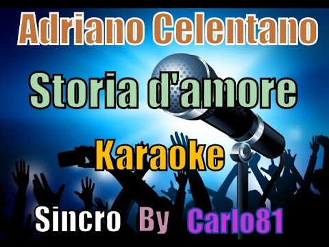 Adriano Celentano - Storia D'amore Karaoke