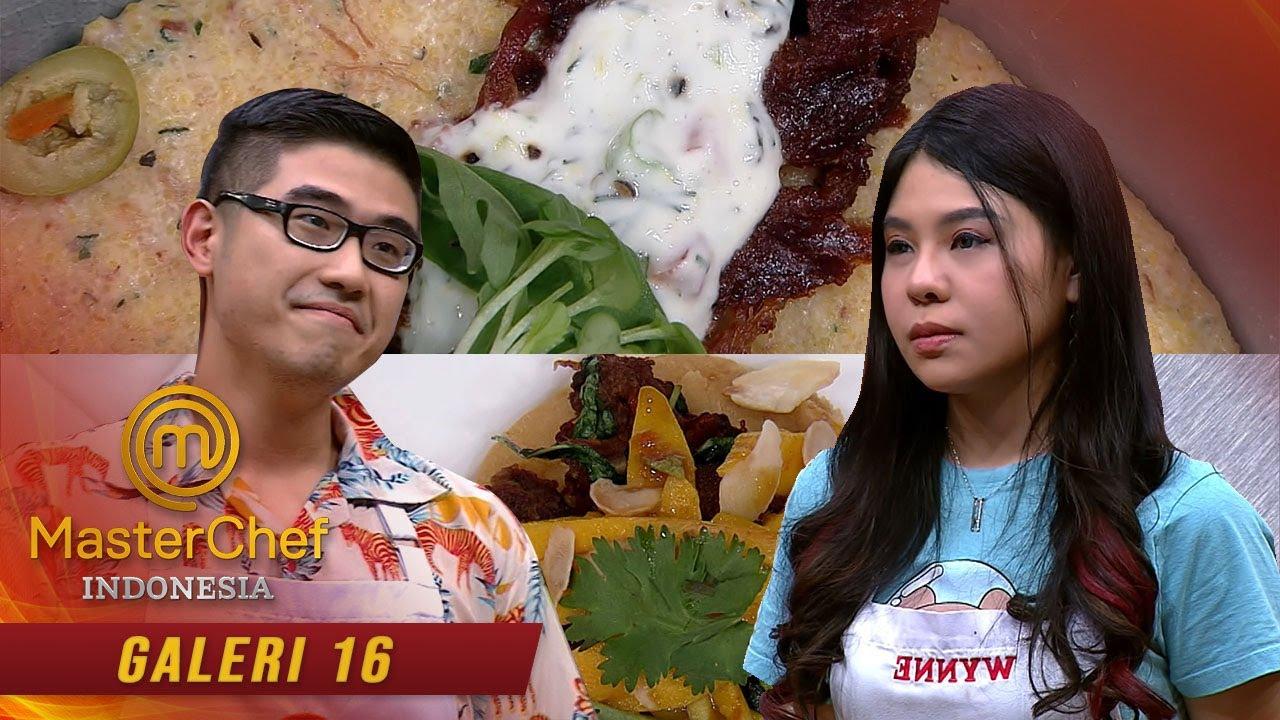 MASTERCHEF INDONESIA - Wynne Berusaha Agar Makananya Terlihat Wah! | Galeri 16