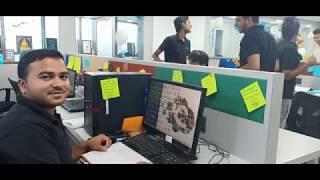 Desk Decoration Contest : Citta Solutions