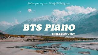 10 Hour BTS Piano Collection⎟Sleep and Study Playlist
