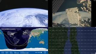 Asian Coastlines - NASA/ESA ISS LIVE Space Station With Map - 213 - 2018-10-17