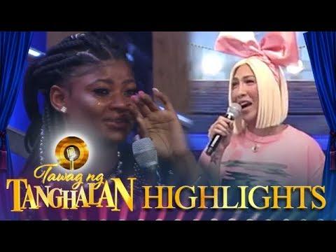 An audience member cries tears of joy! | Tawag ng Tanghalan