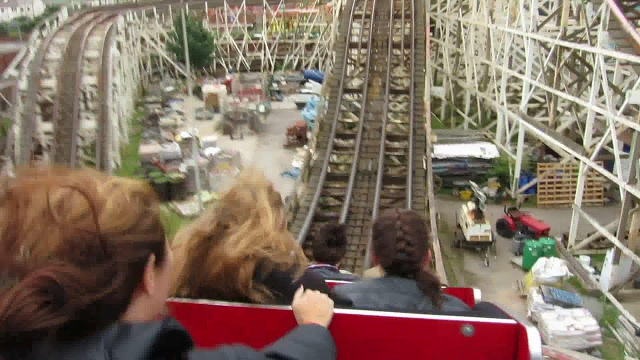 BLACKPOOL PLEASURE BEACH | Riding all the crazy old rides! - YouTube