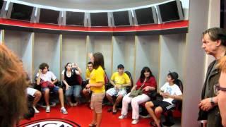 السان سيرو غرفة اللاعبين Dressing room AC Milan