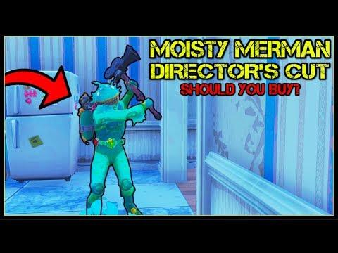 *NEW* LEGENDARY SKIN 'MOISTY MERMAN' + DIRECTOR'S CUT | Should You Buy? (Fortnite Battle Royale!)