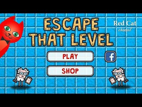 ПОБЕГ ИЗ КОМНАТЫ ИГРА | Escape That Level GAME | Обзор и прохождение тестов игры Escape That Level.
