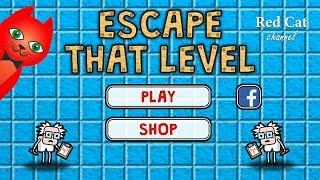 ПОБЕГ ИЗ КОМНАТЫ ИГРА   Escape That Level GAME   Обзор и прохождение тестов игры Escape That Level.