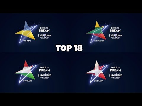 Eurovision 2019-My TOP 18 with Rating