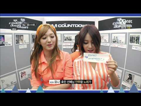 1080P 140731 AOA   Reply Booth Cut @ M! Countdown