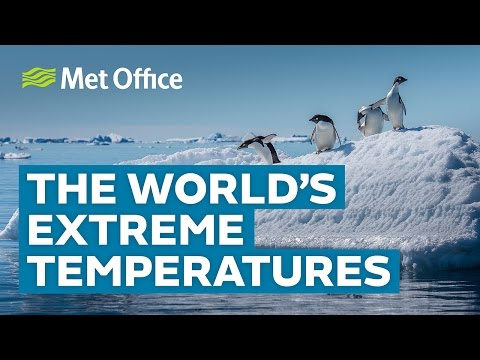 The World's Extreme Temperatures  | Amazing Weather