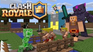 Monster School: Clash Royale Battle - Minecraft Animation