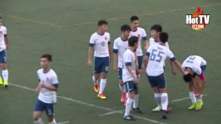 學界D1足球 男拔2:0挫西島奪冠