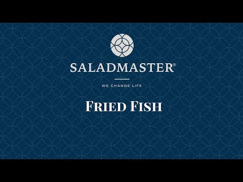 Cooking In Saladmaster: Fried Fish