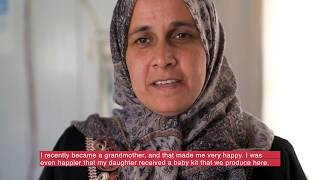 Empowering women in Za'atari refugee camp