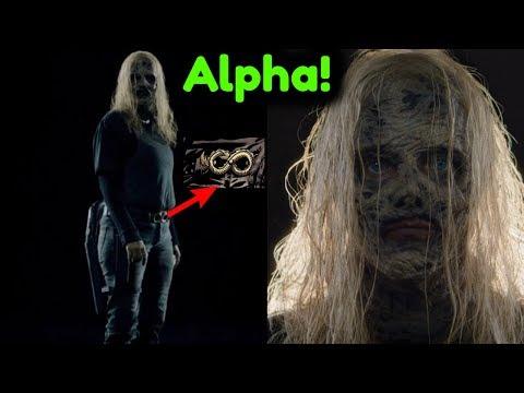 Alpha Full Character NEW LOOK + Whisperers Interview Teaser Breakdown! The Walking Dead Season 9