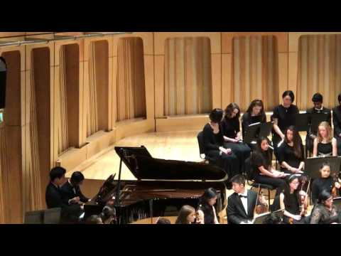 Hee-Chan Kang and Steven Yan playing En Bateau by Debussy in the RWCMD