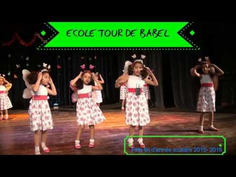 fête fin d année scolaire 2015-2016 Ecole Tour de Babel Tanger