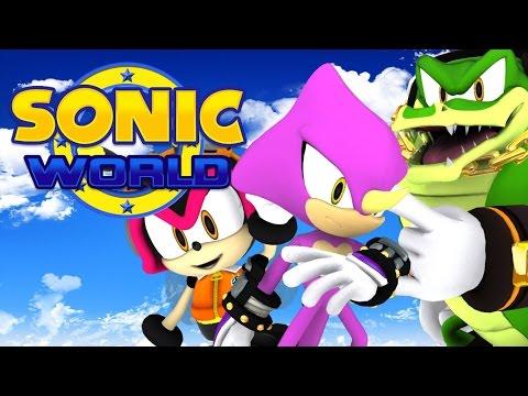 Zagrajmy w Sonic World (cz. 2) - Team Chaotix i Metal Harbor