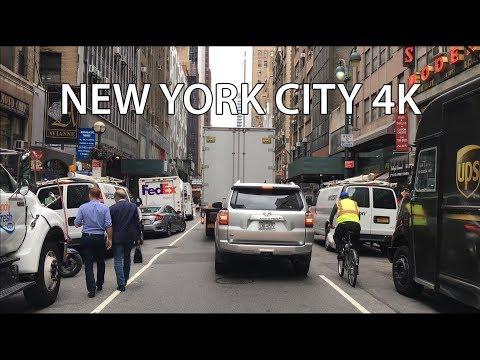 New York City 4K - Diamond District Drive